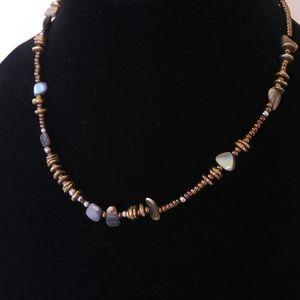 Silpada N1729 Retired Bronze Shell Sterling Beads